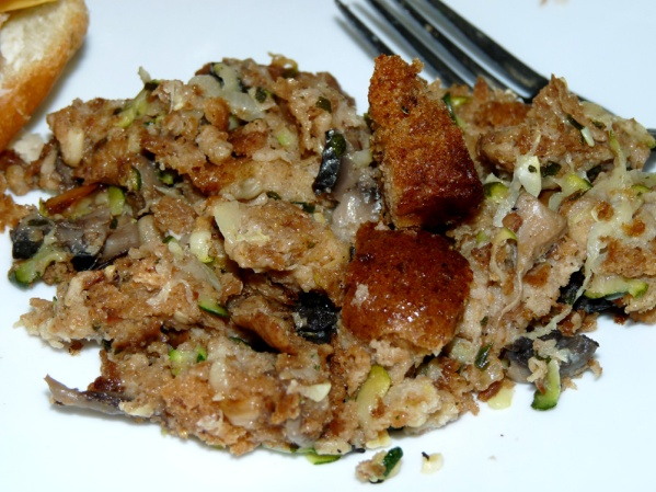 Stuffing with Zucchini
