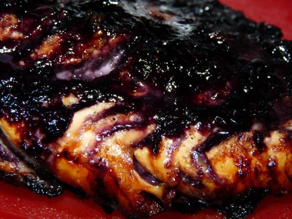 Blueberry Glazed Salmon