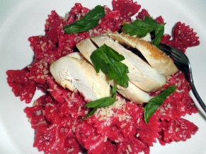 Pasta with Roasted Beet Sauce
