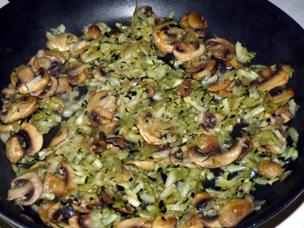 Add zucchini and saute 4-5 minutes longer