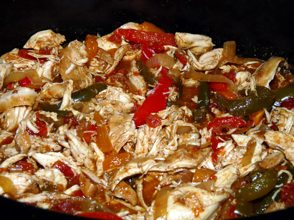 Facebook Crockpot Chicken Fajitas