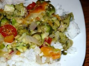 Shredded Vegetable Casserole