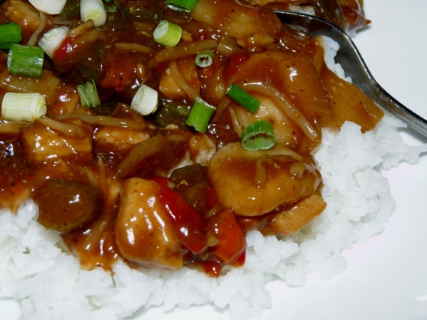 Chicken Chow Mein with Hoisin Sauce