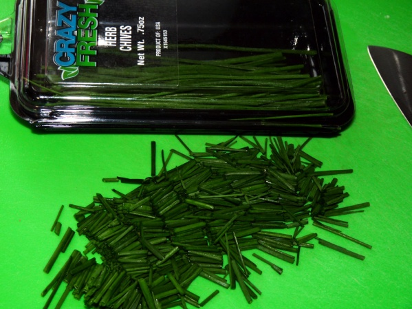 Roughly Chop Chives
