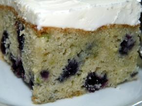 Blueberry Zucchini Snacking Cake