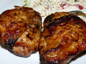 Bourbon Marinade Grilled Chicken