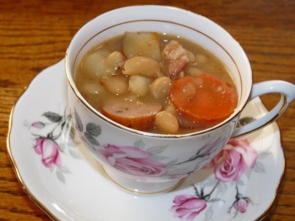 Three White Bean Soup