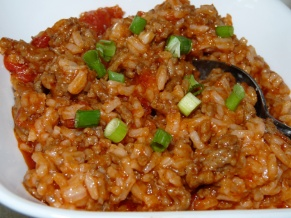 Rice Goulash