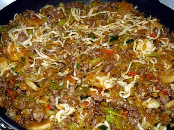 Heat through and taste test for seasoning
