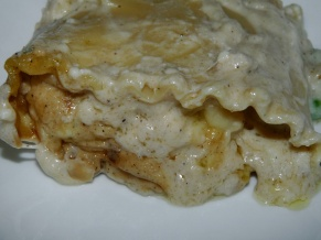 Deli Chicken Lasagna Rollups