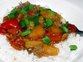 Sweet and Sour Shredded Pork
