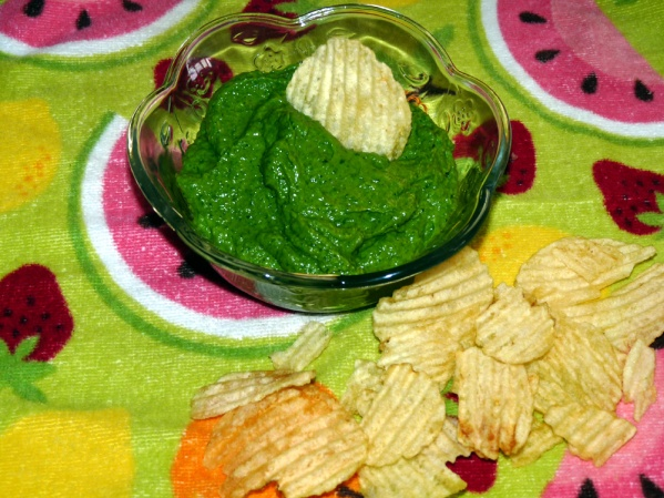 Avocado Spinach Dip