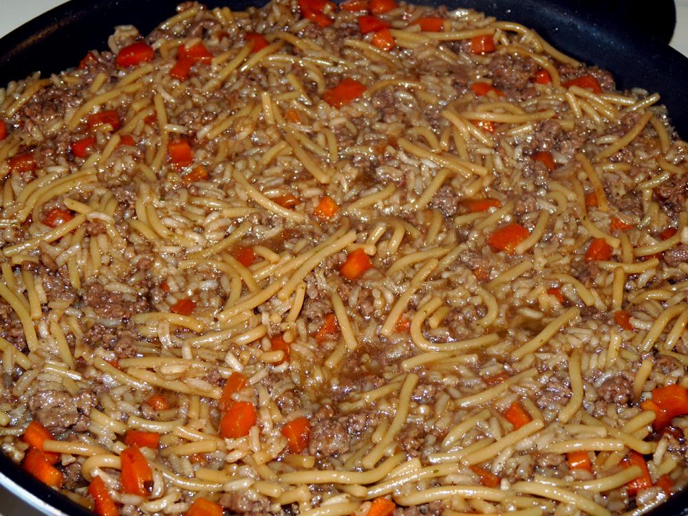 Beef Rice a Roni {copycat recipe}