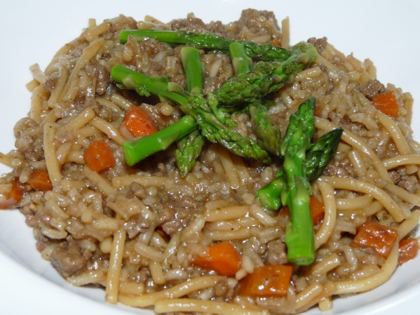 Beef Rice a Roni {copycat recipe}