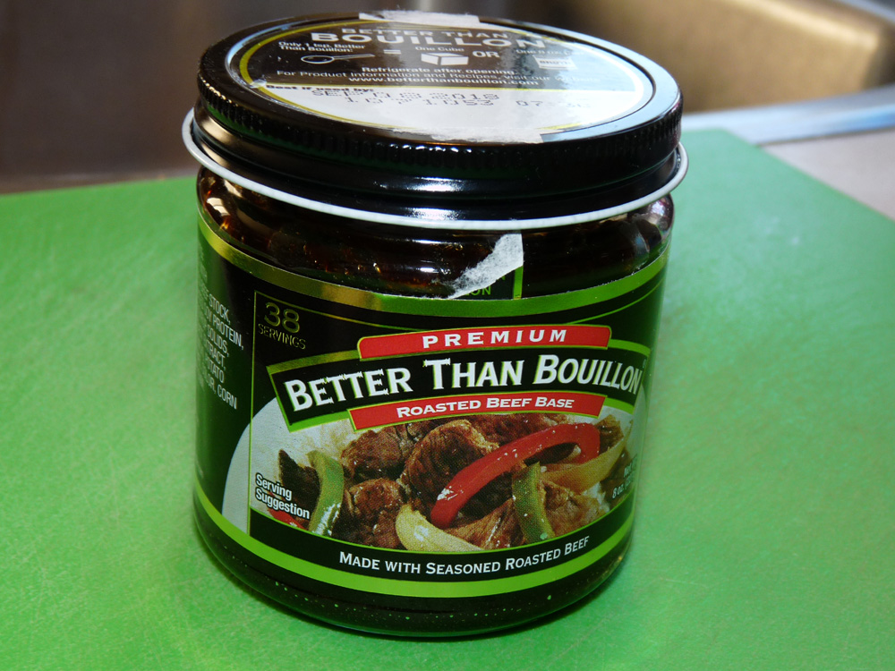 This is my go-to beef bouillon for a great tasting broth.