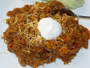 Pork Fajita Quinoa Stew