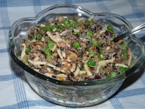 Sweet Peas and Wild Rice Salad