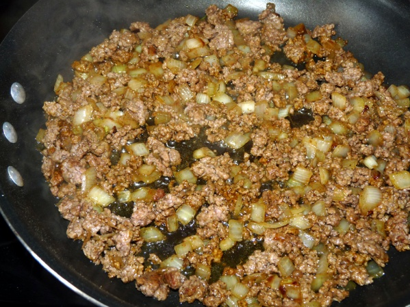 Cook seasoned beef until toasted and fragrant, about 3 minutes