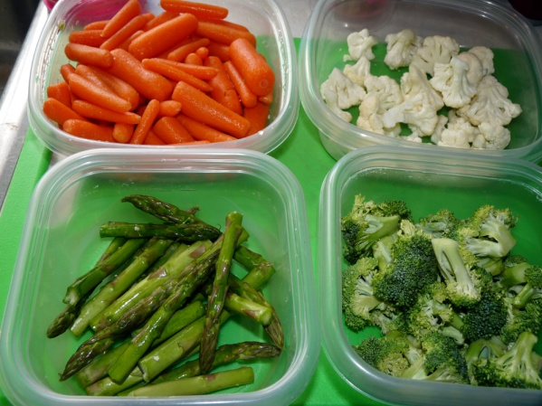 Vegetables sorted out