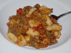 Beefy Gnocchi Casserole
