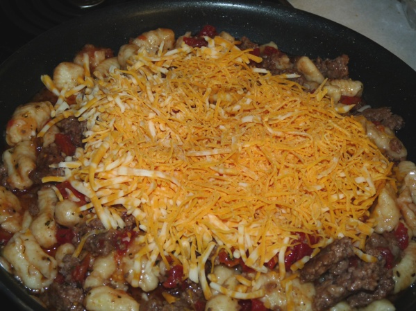 Add cheeses
