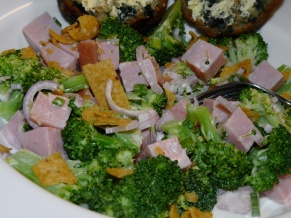 Broccoli, Ham and Fritos Salad
