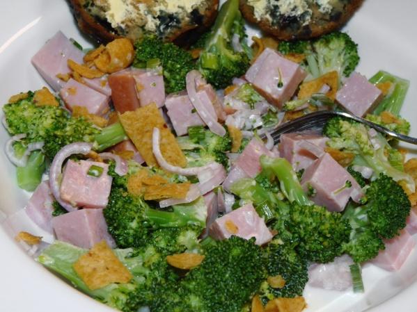 Broccoli, Ham and Fritos Salad