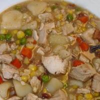 Fowl, Not Foul Potato Soup
