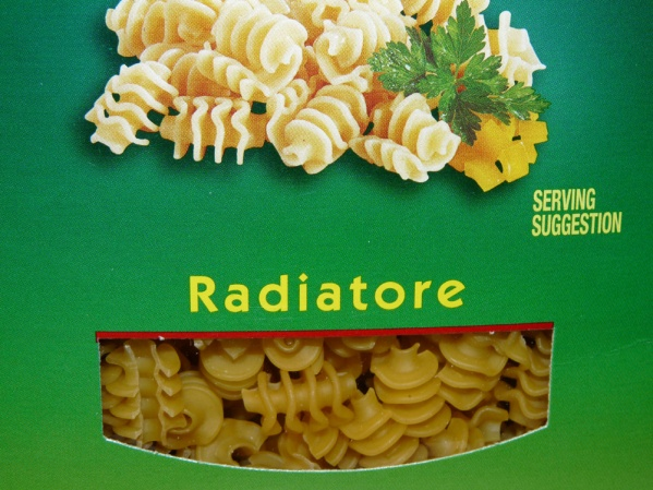 Radiatore is one of my favorite pastas because the crevasses hold sauces so well.