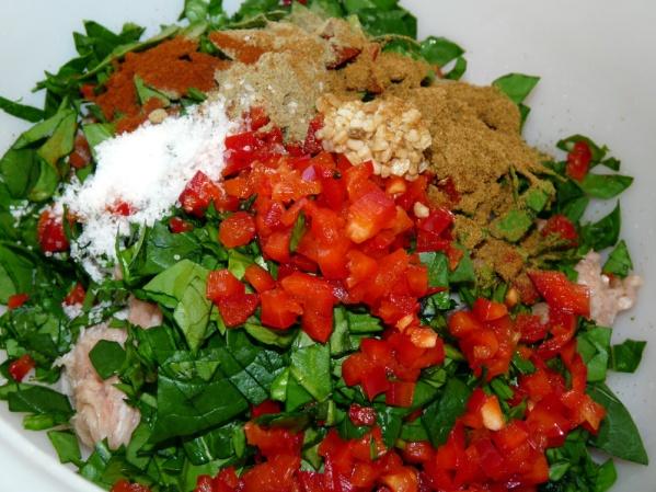 Add rest of ingredients and seasonings.