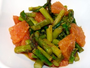 Warm Asparagus Orange Salad