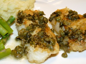 Cod Piccata | LadyMelady: My Castle, My Food