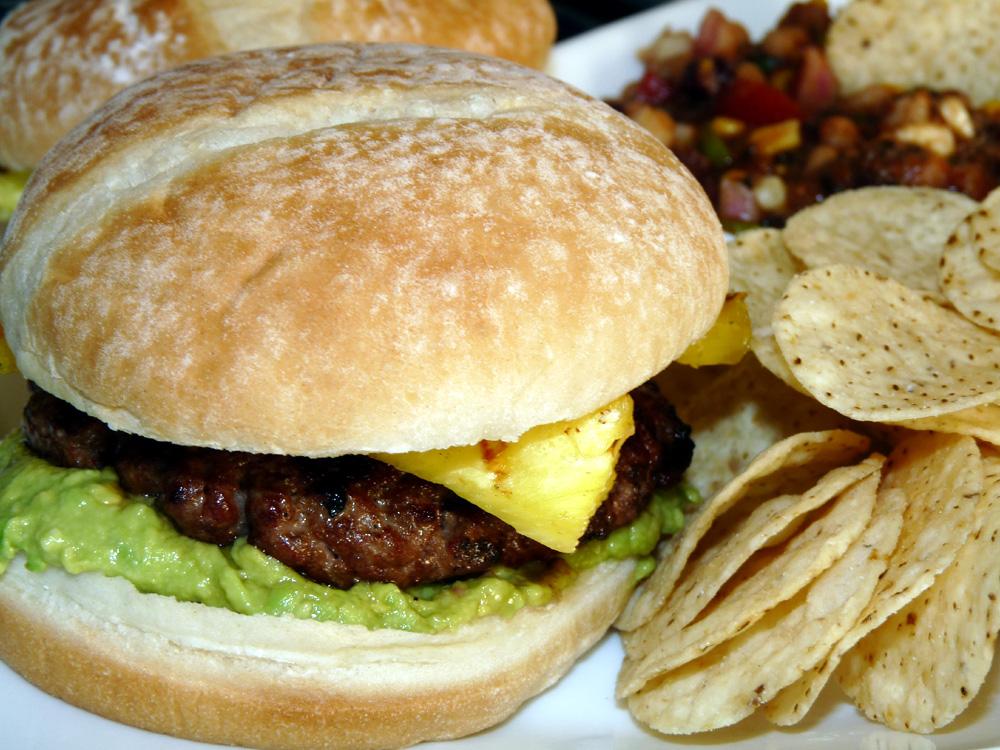 Grilled Teriyaki Burgers
