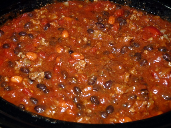 Stir well, cover and cook on high for one hour. Lower the heat to low and cook another 3 hours.