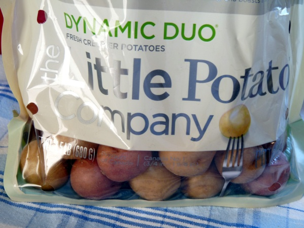 I used Little Potato Company potatoes, a combo of red and white