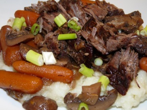 Red Wine Braised Roast Beef