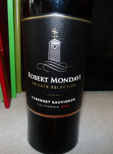 Use a good red wine. I like Robert Mondavi wines, this cabernet sauvignon was excellent.