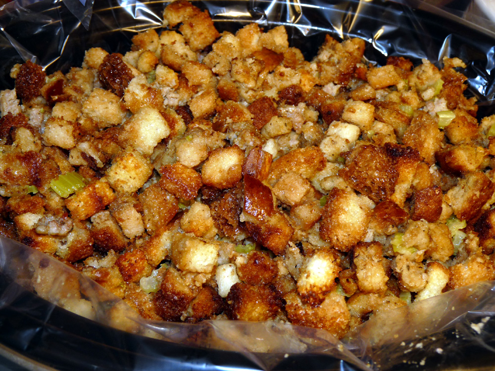 Sausage Stuffing From Scratch