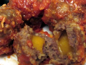 Juicy Lucy Meatballs