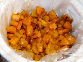Maple Honey Roasted Butternut Squash