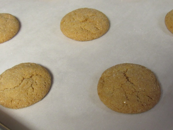 Slide cookies on parchment paper onto a rack and cool completely. Store in airtight container.
