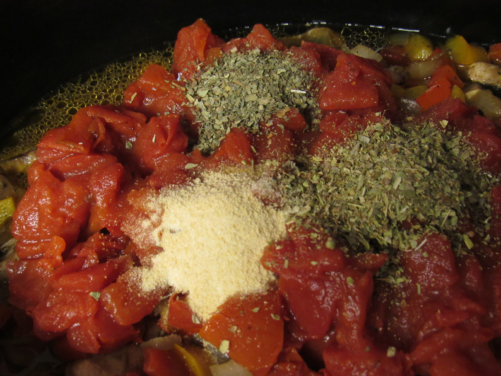 Add seasoning and stir weel. Place cover on crockpot and cook on high for one hour. Reduce heat and cook on low for another 2 hours.