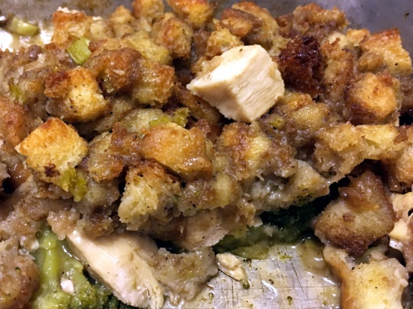 Turkey, Broccoli Stuffing Hotdish