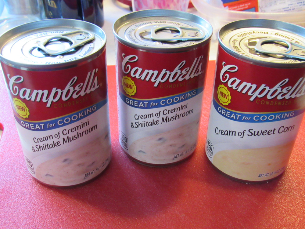New Campbell's soups