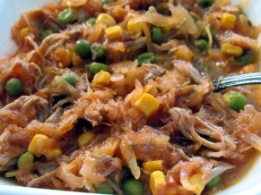 Dad's Sauerkraut Shredded Pork Soup