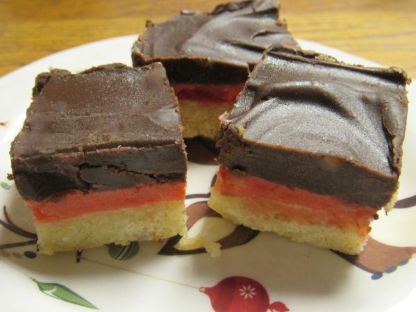 Maraschino Cherry Cheesecake Bars