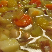Ham and Bean Dump Soup