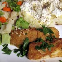 Greek Style Baked Cod